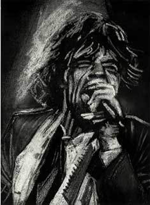 Study For Mick